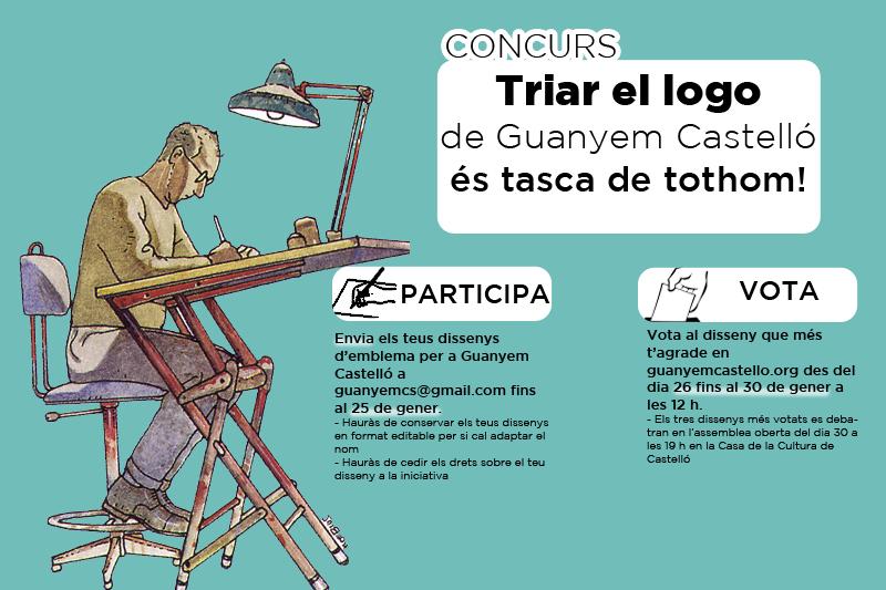 Guanyar Castelló Organitza Un Concurs Per A Triar El Seu Logo