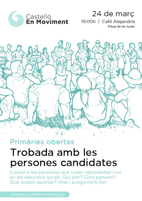 Trobada Per Conéixer Les Candidatures De Castelló En Moviment