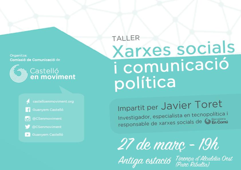 Xarxes Socials I Comunicació Política