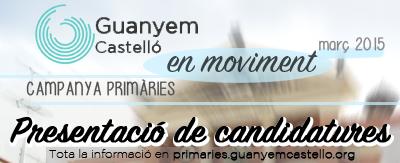 Guanyem Castelló Inicia La Seua Campanya De Primàries
