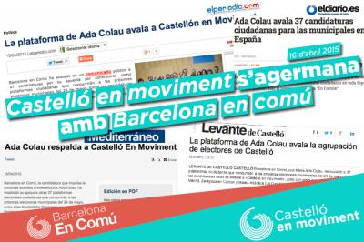 Agermanament Amb Barcelona En Comú