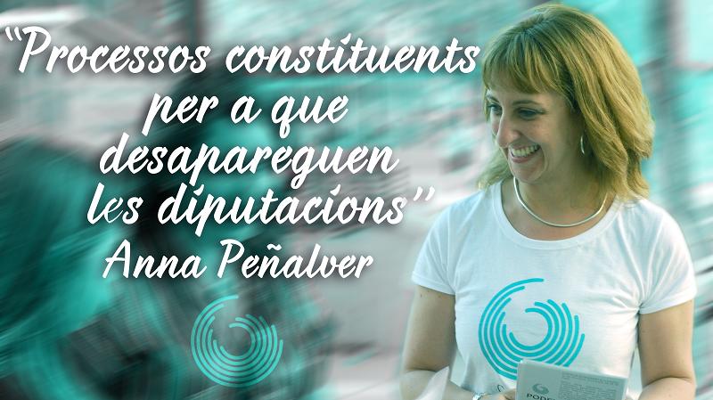 Intervenció D'Anna Peñalver Al Ple Extraordinari Per La Constitució De La Diputació