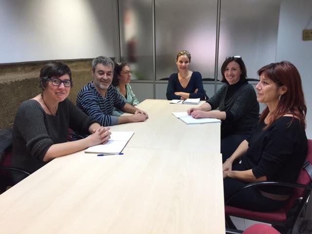 Reunió Amb La Senadora Pilar Lima (Podem) I Representants De L'associació De Persones Sordes APESOCAS