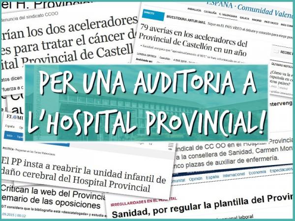 Anul·len Un Concurs-oposició De L'Hospital Provincial Per Irregularitats En La Custòdia Dels Exàmens