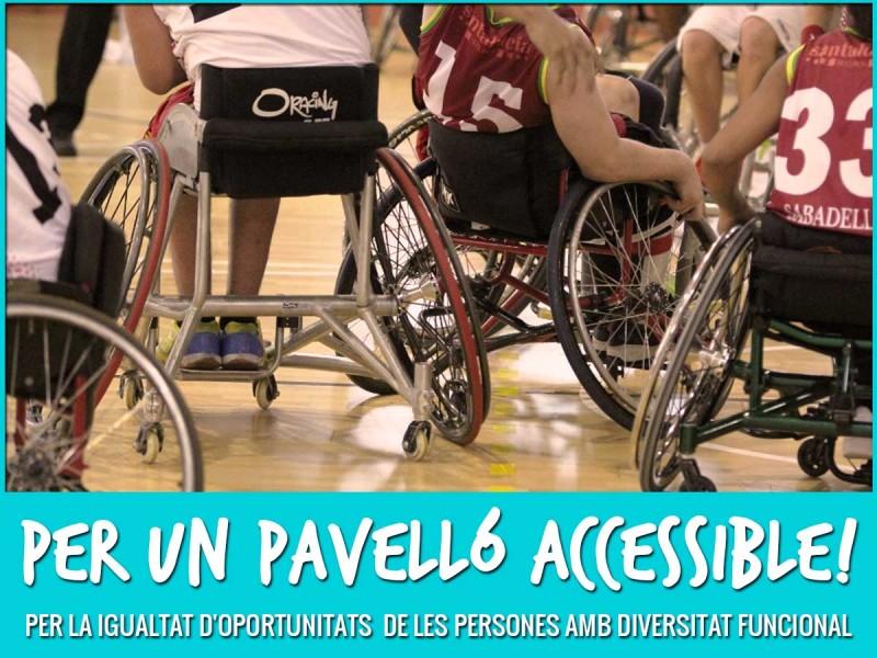 Celebrem Les Reformes Per Millorar L'accessibilitat Del Pavelló Ciutat De Castelló.