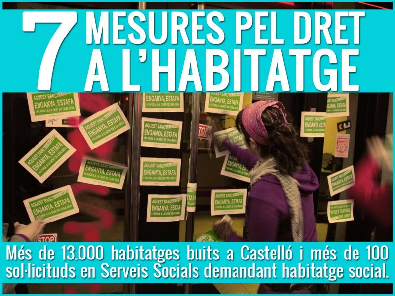 7 Mesures Per A Garantir El Dret A L'habitatge