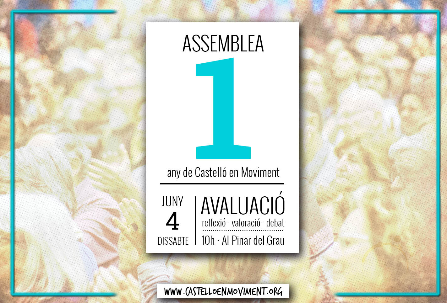 1 Any De Castelló En Moviment. Assemblea De Valoració