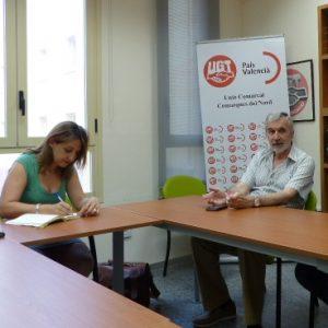 Reunió En UGT