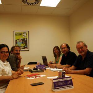 Reunió En CCOO