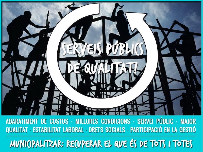 Peñalver: «Municipalitzar Els Serveis Privatitzats Feminitzats és Una Via Per Combatre Les Desigualtats De Gènere»