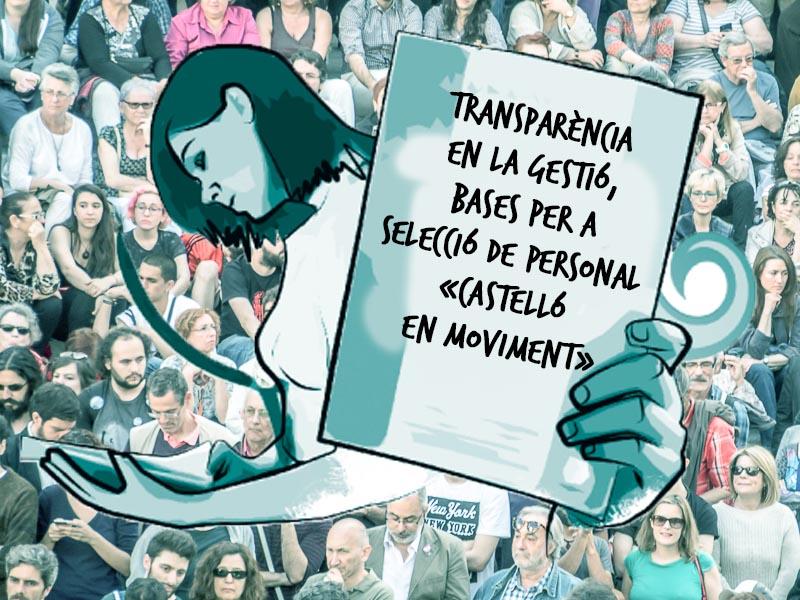 Procés De Selecció De Personal Per A Cobrir Un Lloc D'assessor De Castelló En Moviment