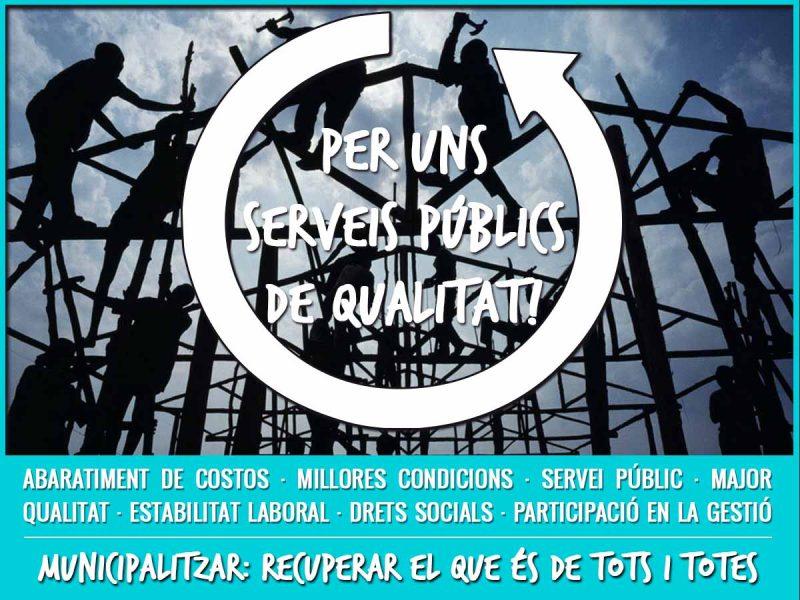 Les Condicions De Treball Del Personal Dels Serveis Municipals Privatitzats, Una De Les Preocupacions De Castelló En Moviment