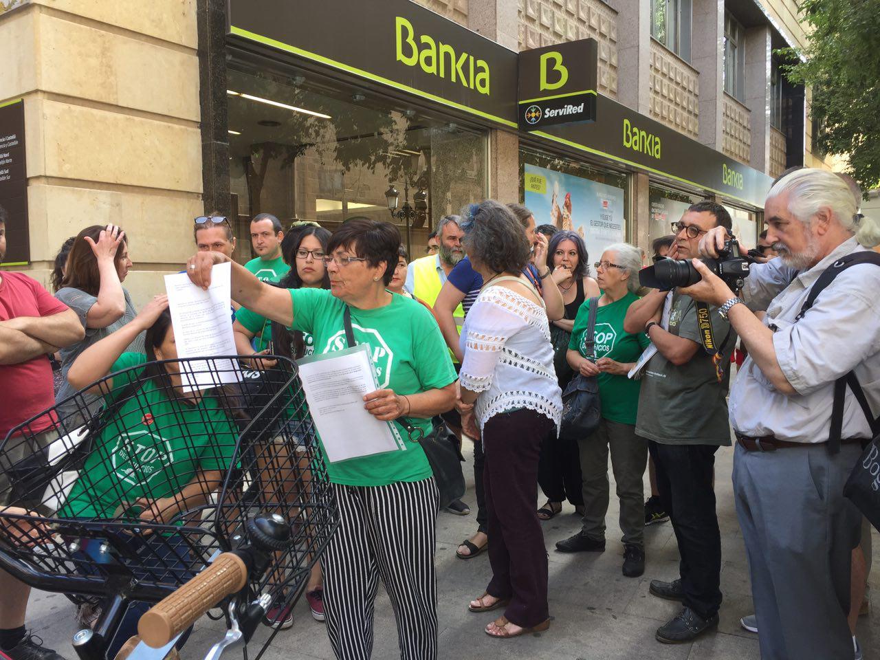 Concentració Bankia