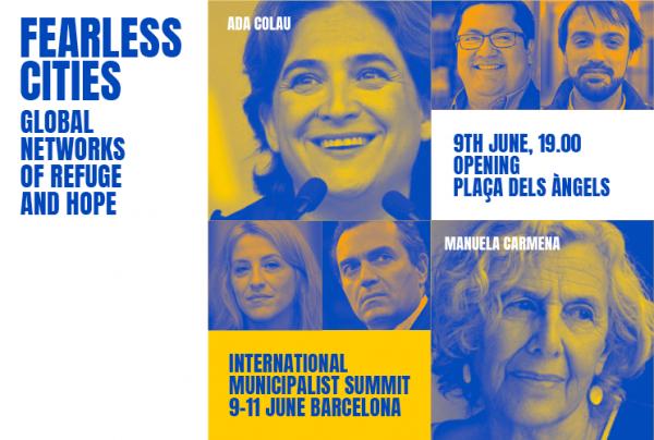 Una Delegació De Castelló En Moviment Participa En La Trobada Internacional De «Ciutats Sense Por» A Barcelona
