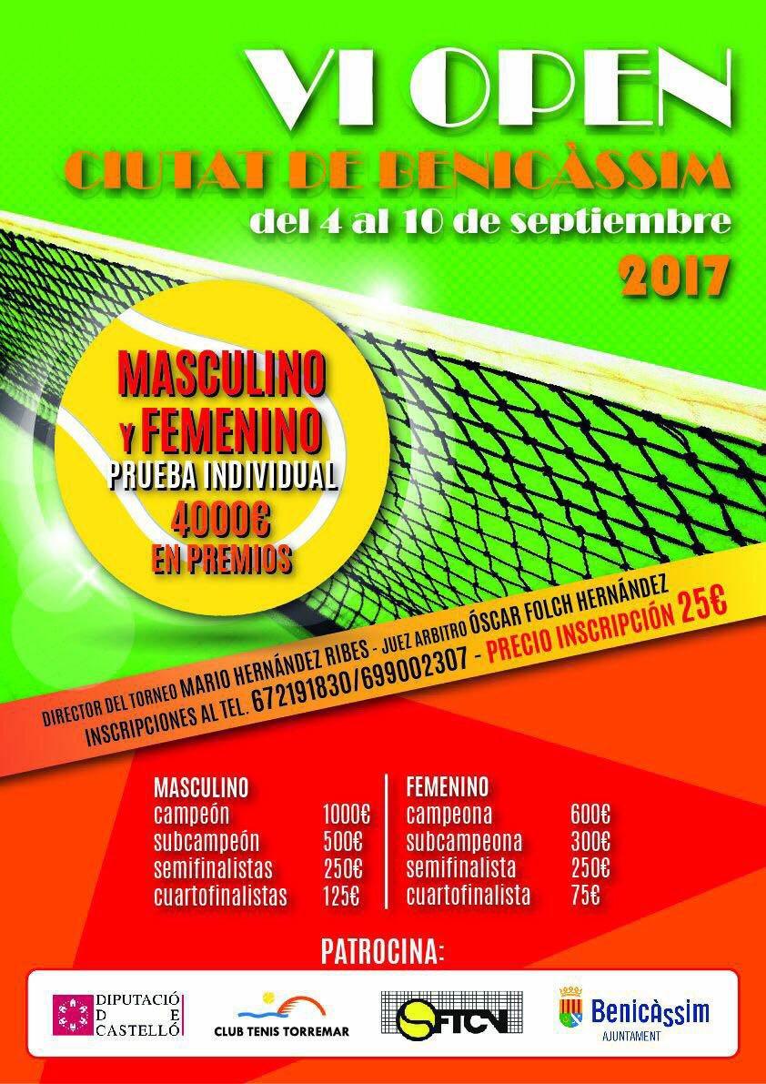 Cartell Torneig Tennis