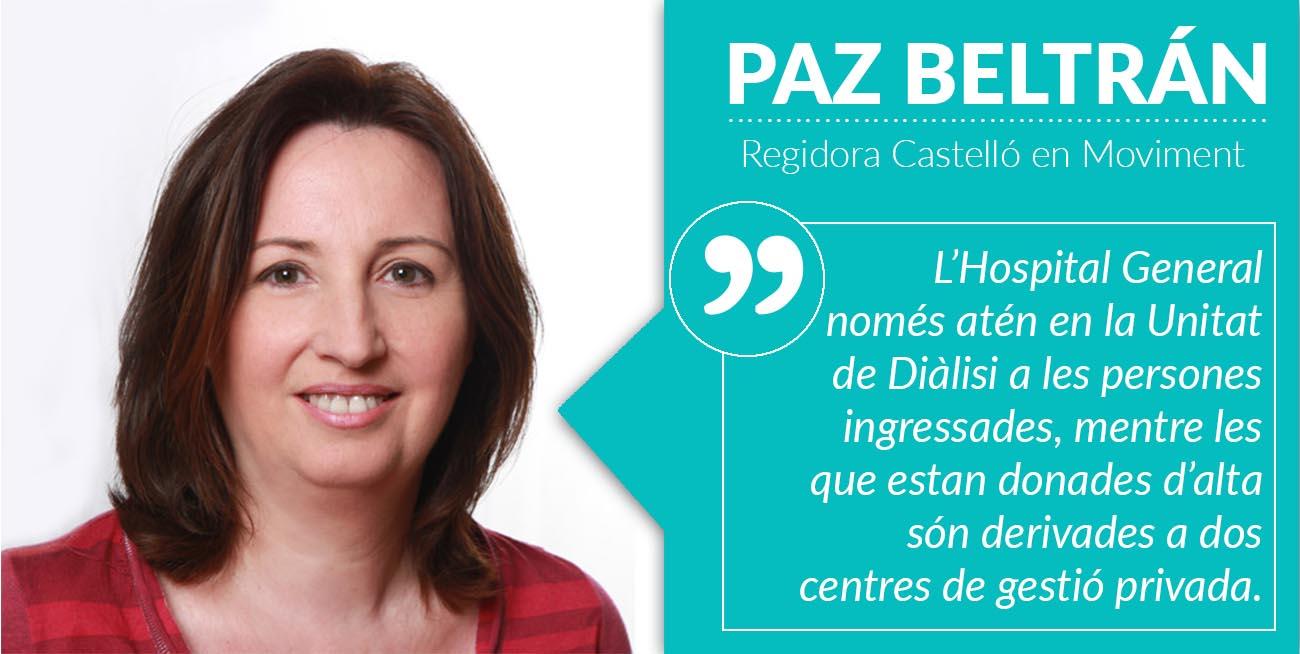 Castelló Sol·licita Un Nou Centre D'hemodiàlisi Per Atendre Als Pacients De Les Comarques De Castelló