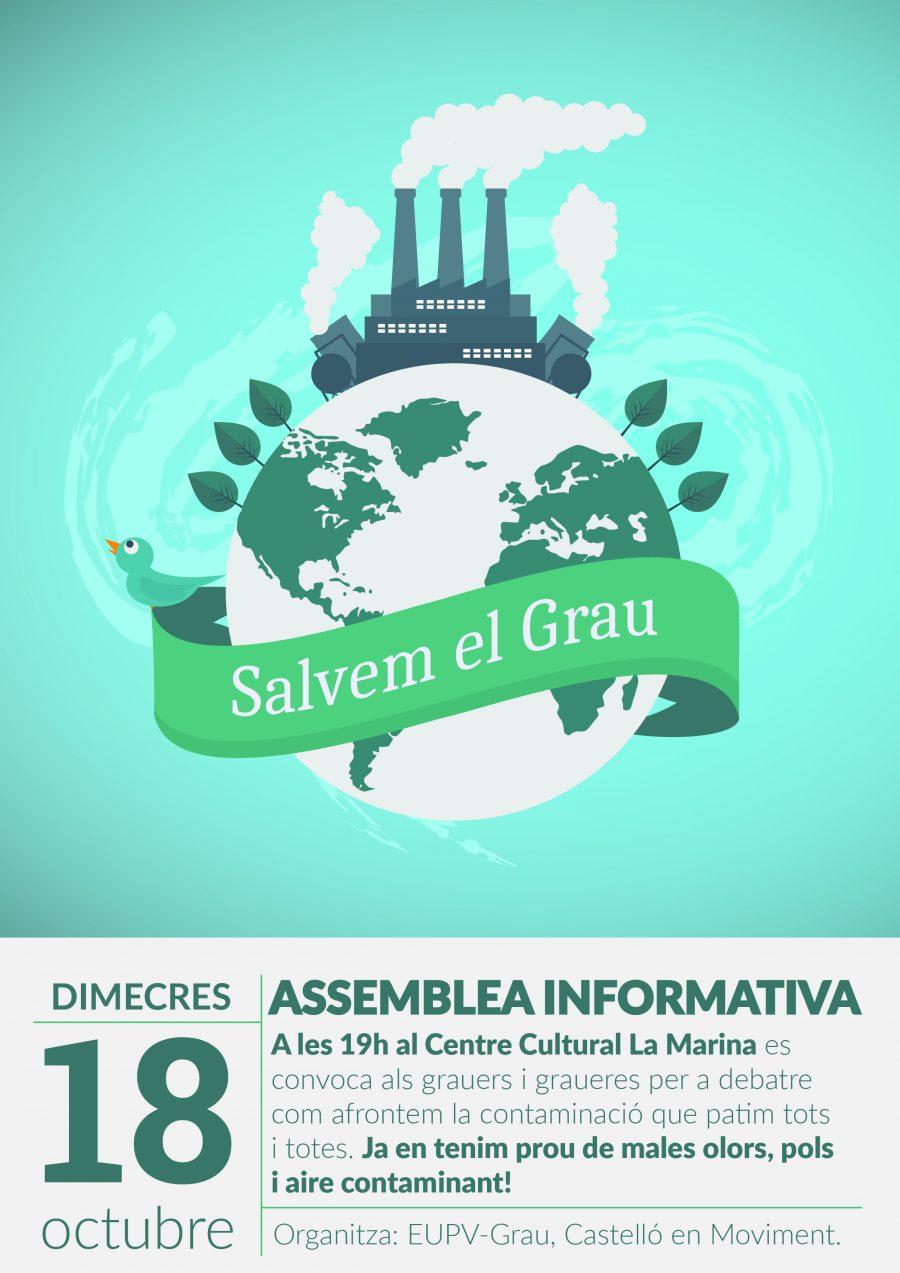 Assemblea Informativa Amb El Veïnat Del Grau Per A Conèixer Els Riscs Del Polígon Del Serrallo