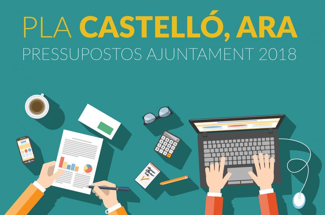 """Presentem A L'alcaldessa El """"Pla Castelló, Ara"""" Per Als Pressupostos Del 2018"""