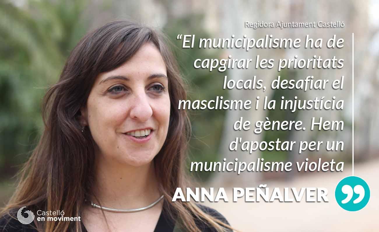 """Peñalver: """"La Fiscalitat Local També Ha De Ser Feminista. Treballem Per Un Municipalisme Violeta"""""""