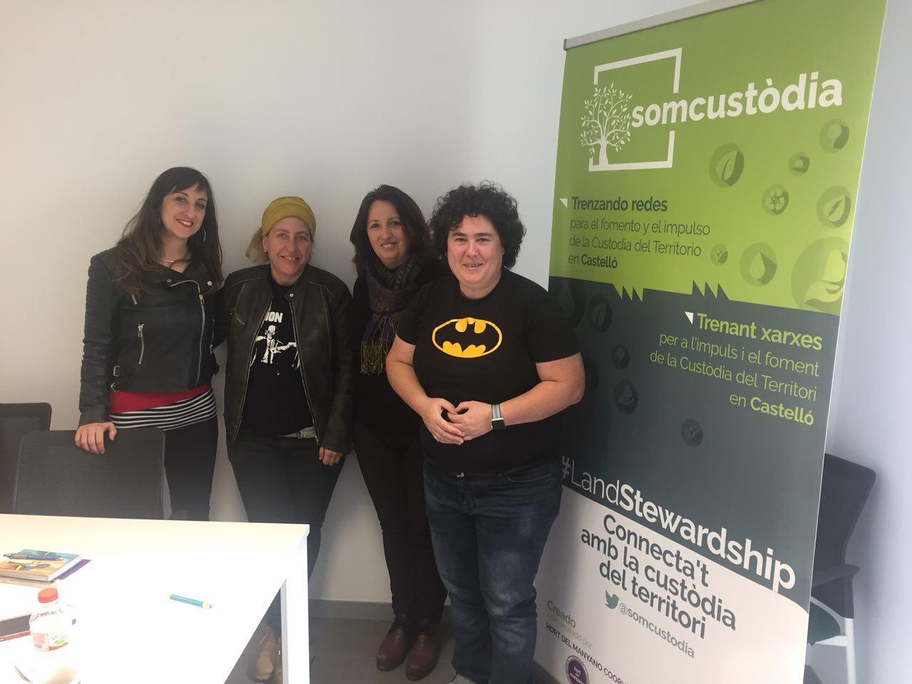 Ens Reunim Amb La Cooperativa Hort Del Manyano Per A Abordar El Parc Agrari De Castelló