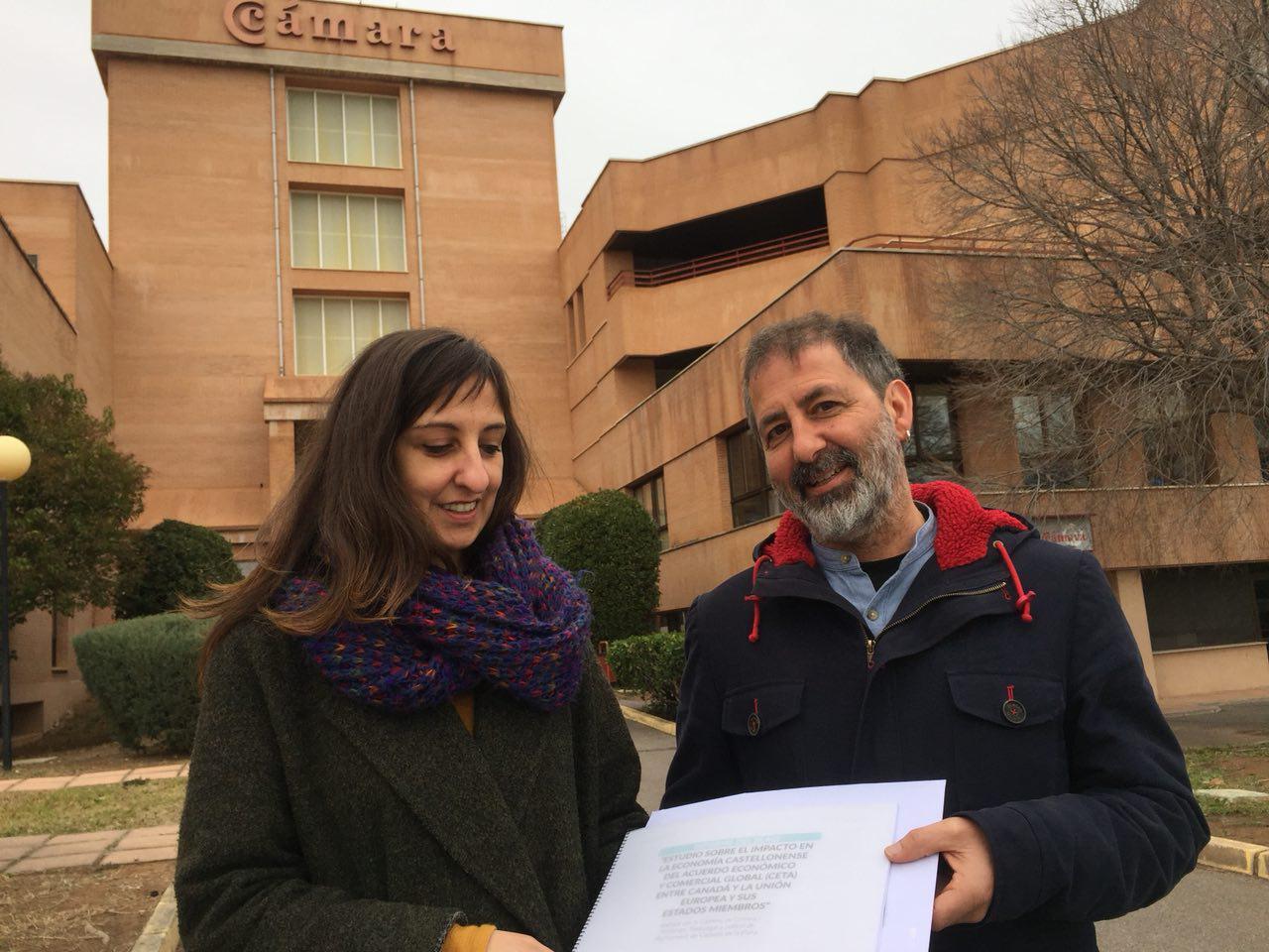 Lliurem A La Cambra De Comerç Un Informe On Es Demostra Que «l'estudi Sobre El CETA és Una Estafa»