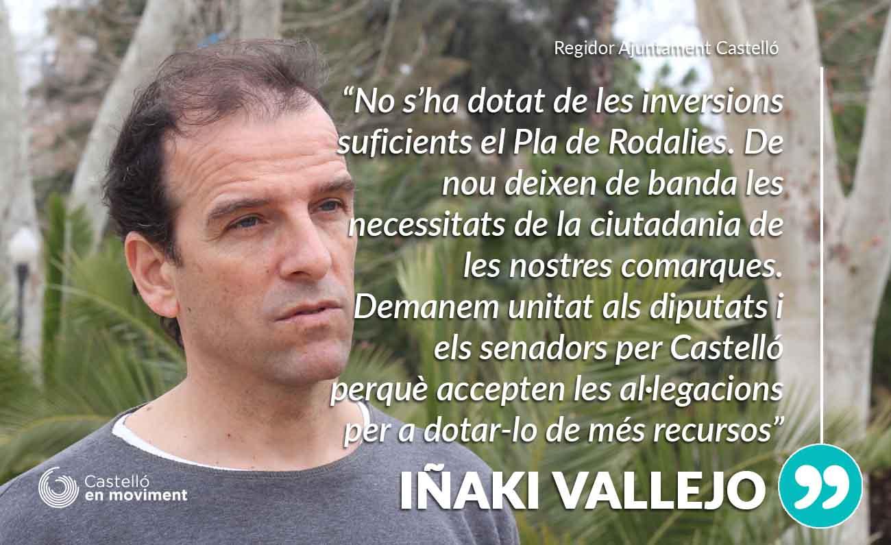 Demanem Als Diputats Al Congrés Per Castelló Unitat Per A Ampliar El Pressupost Del Pla De Rodalies