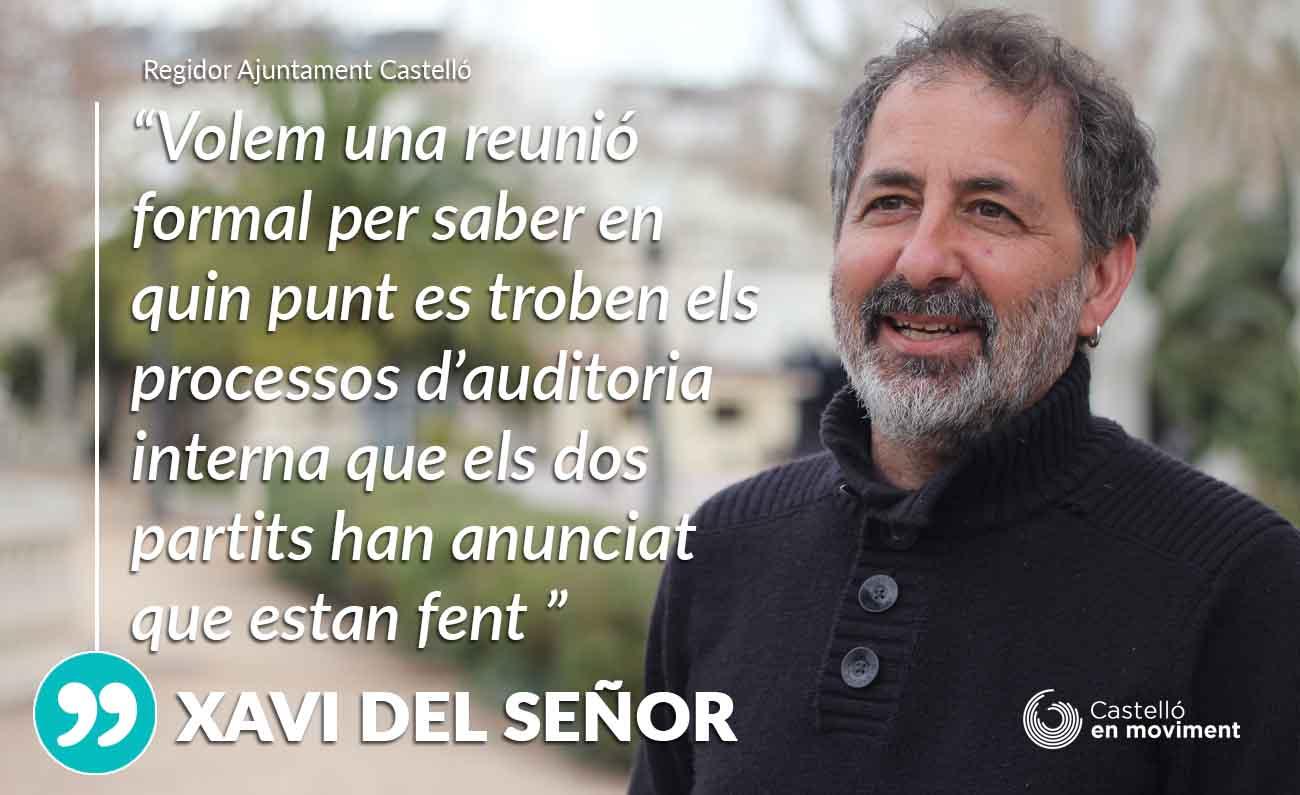 Del Señor Lamenta Que El PSPV «es Negue A Explicar A Un Soci Del Pacte Del Grau Les Sospites Publicades A Premsa»