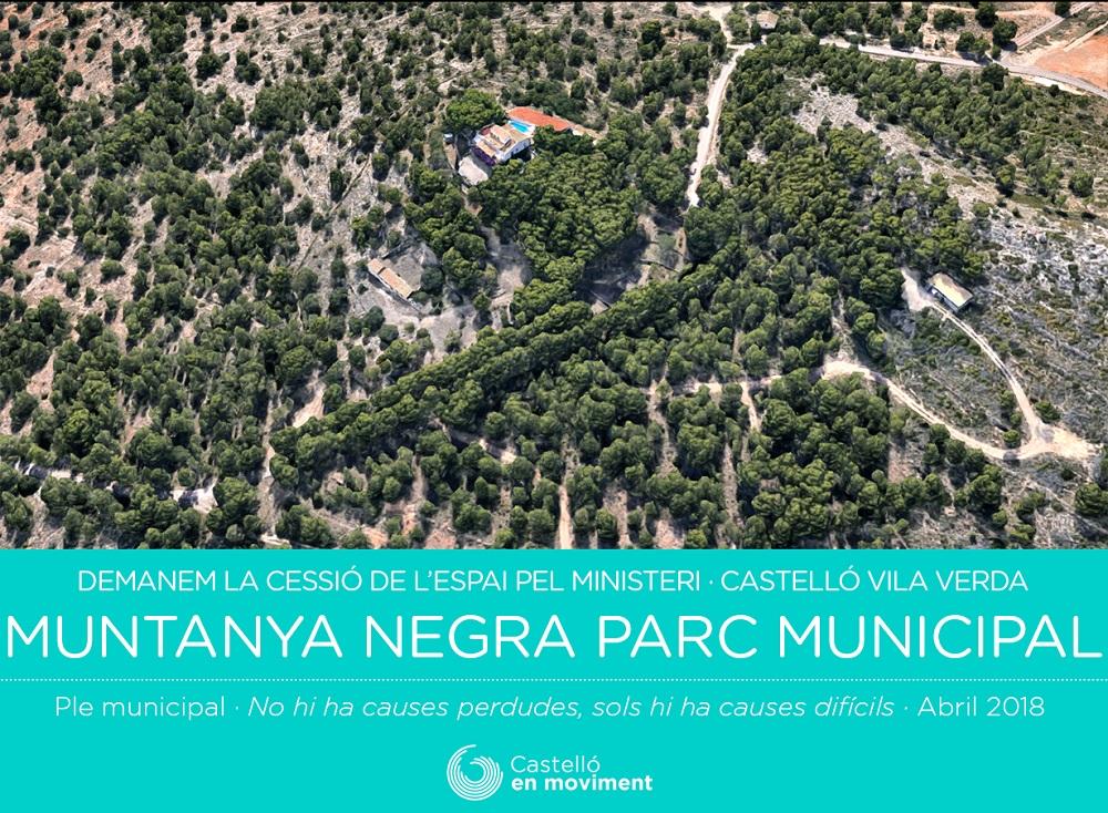 """Xavi Del Señor: """"Esperem Que El Ple Municipal Aprove La Proposta Per Crear Un Parc Municipal En Muntanya Negra"""""""