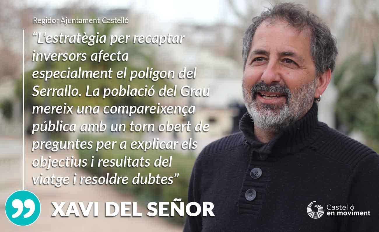 Del Señor: «l'alcaldessa Deuria Explicar Al Veïnat Del Grau Els Plans Per Ampliar L'activitat Del Serrallo»