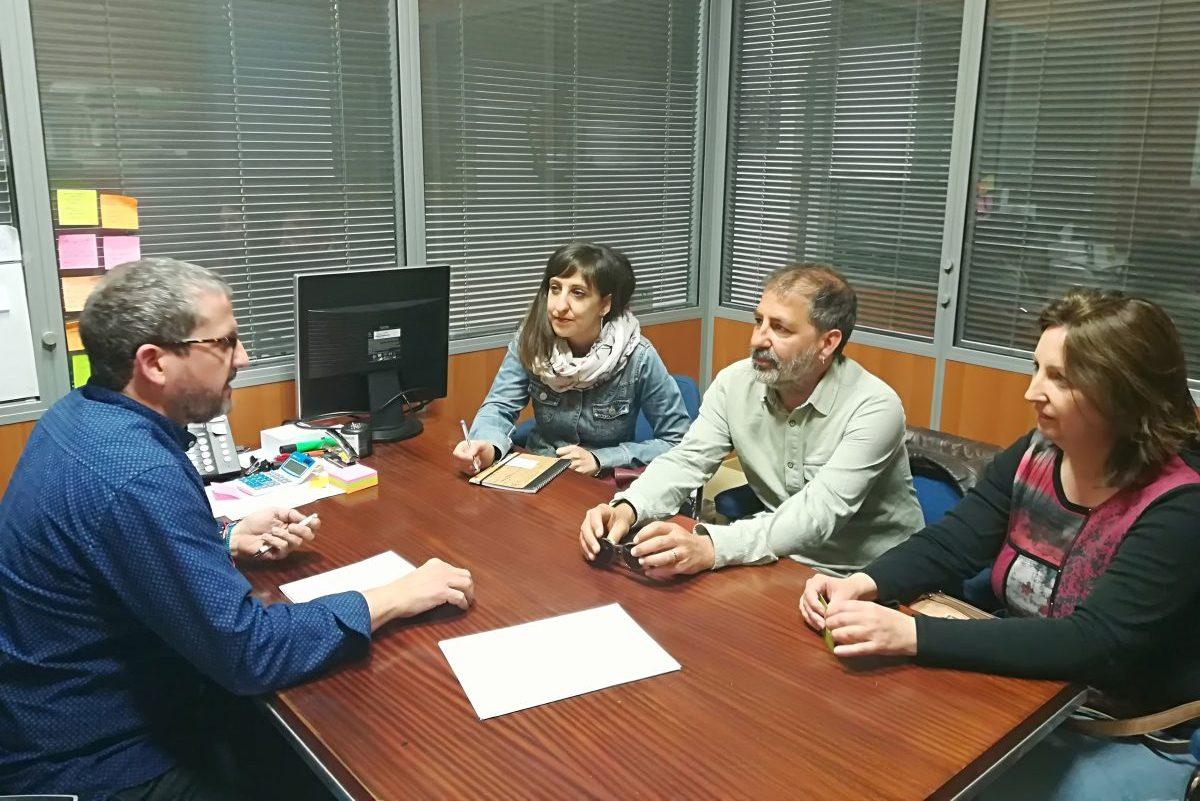 Ens Reunim Amb La Unió De Llauradors Per Abordar El Parc Agrari De Castelló