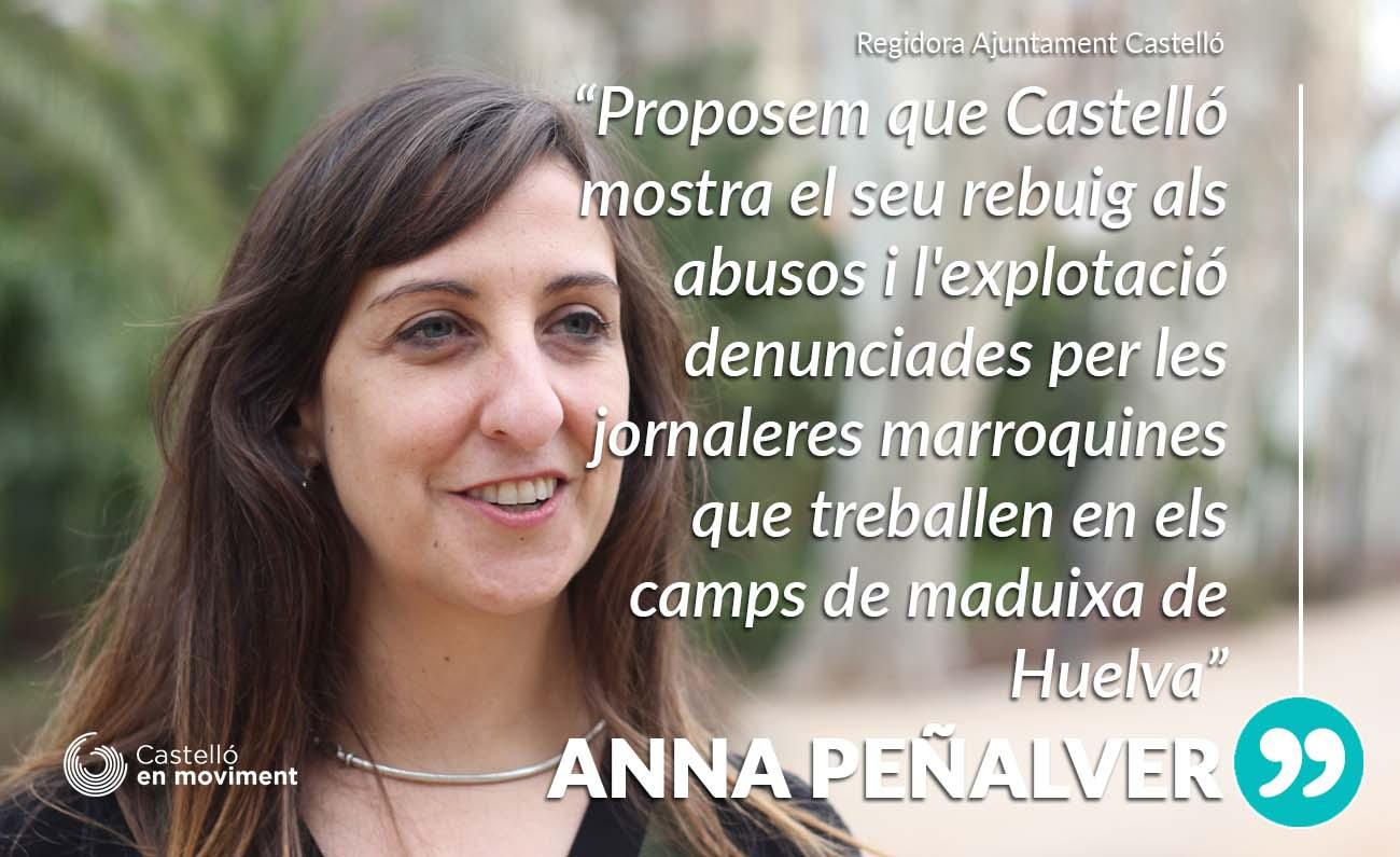 Castelló Rebutja Els Abusos Denunciats Per Les Dones Jornaleres De La Maduixa A Huelva