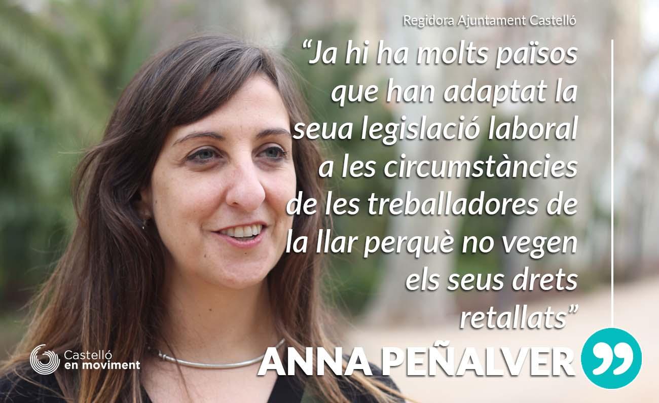 Castelló Demanarà La Integració De Les Treballadores De La Llar Al Règim Comú De La Seguretat Social