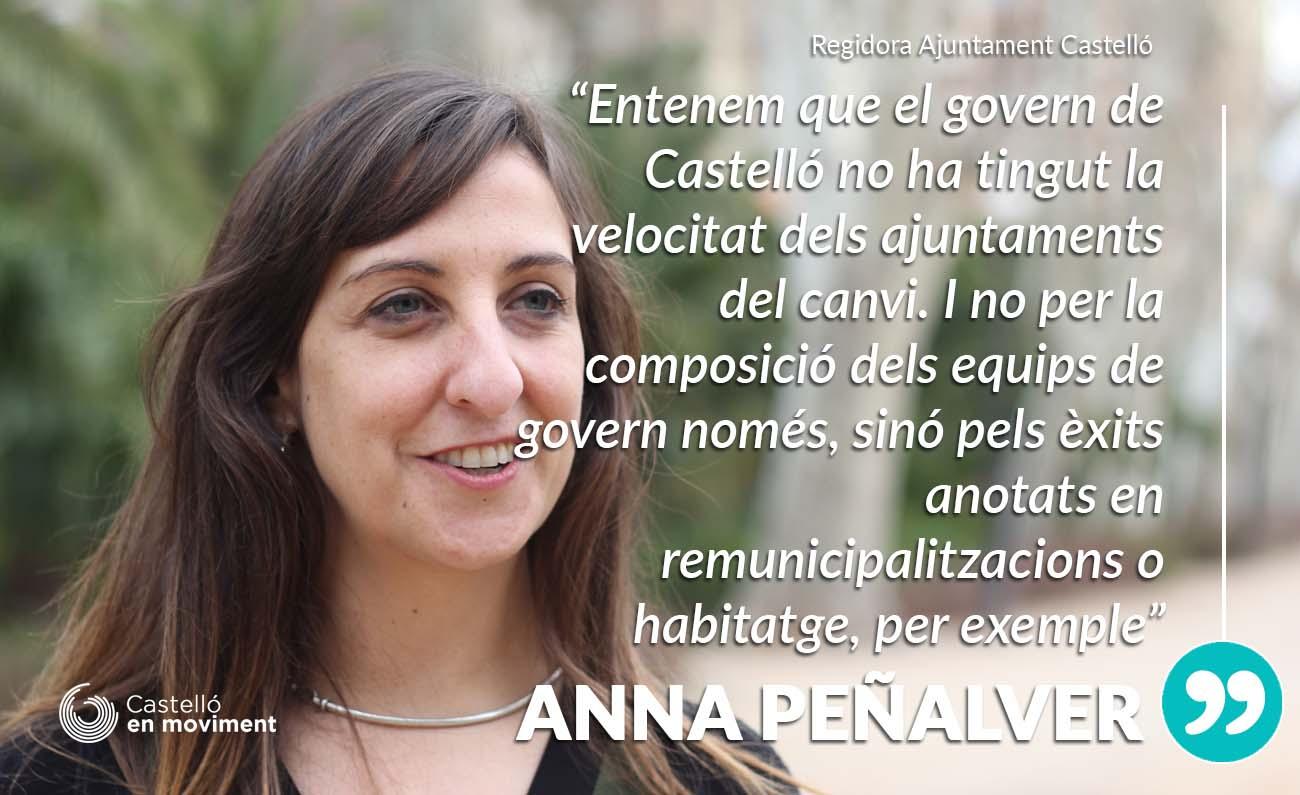 Peñalver: «els Ajuntaments Del Canvi Estan Arribant Molt Més Lluny Que Castelló En Habitatge I Remunicipalitzacions»