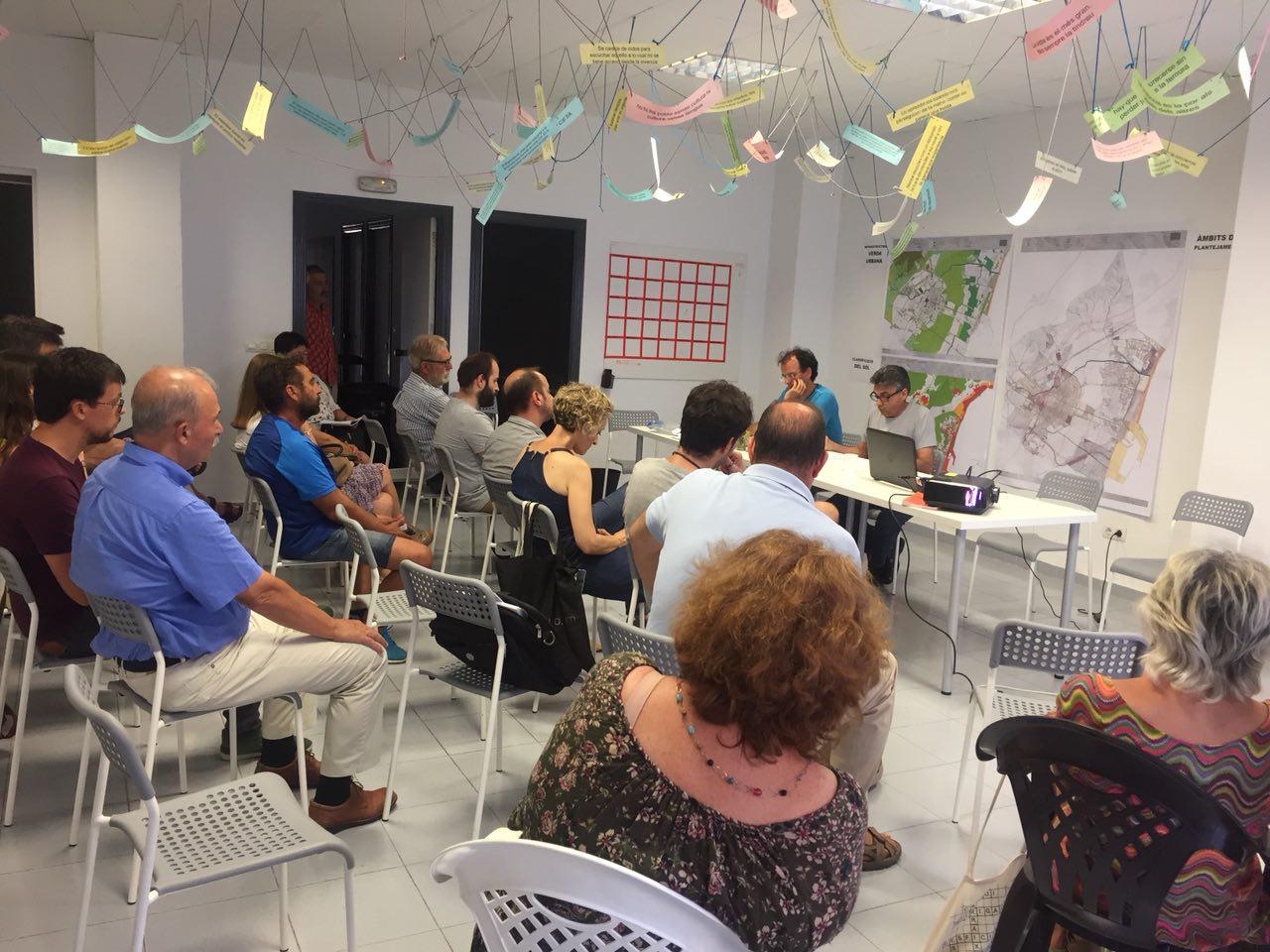 Castelló En Moviment Escolta A Les Associacions De La Ciutat Per Definir La Seua Posició Sobre Les Al·legacions Al Pla General Estructural