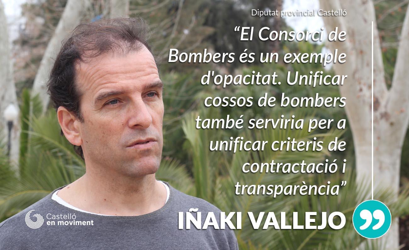 """Vallejo: """"Per Optimitzar La Campanya Estival D'extinció D'incendis Cal Un Cos Únic De Bombers"""""""