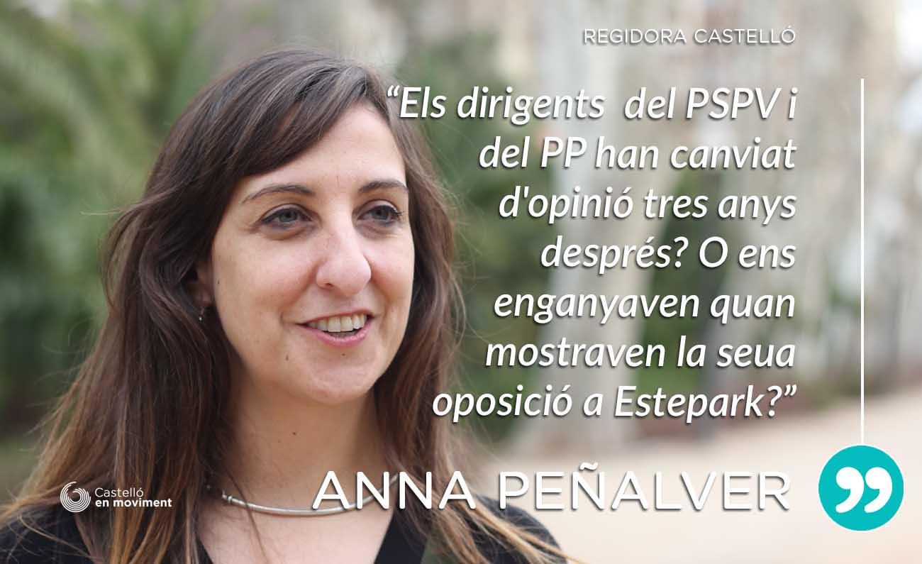 """Peñalver: """"La Inauguració D'Estepark Perjudica Greument El Comerç Local"""""""