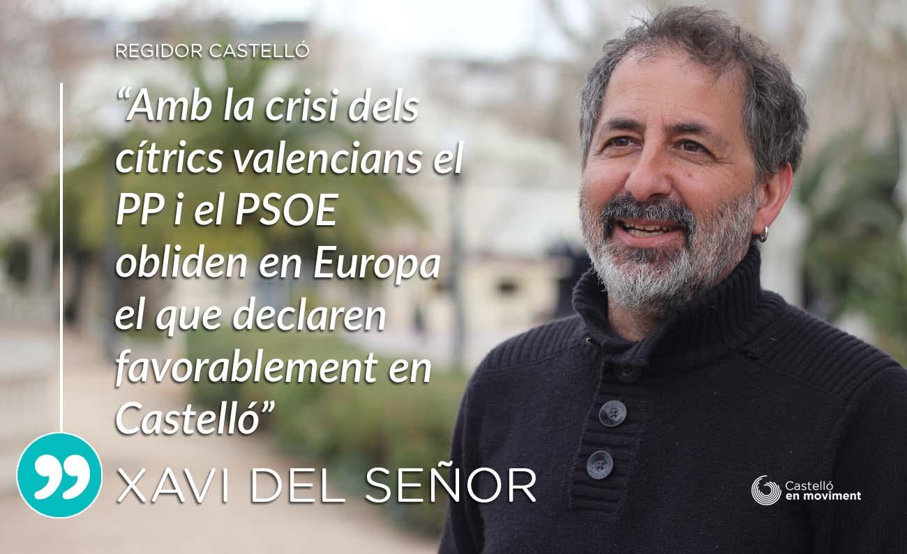 El PSOE I El PP Veten La Reprovació Als Eurodiputats Que Han Promogut La Crisi Del Sector Citrícola Valencià