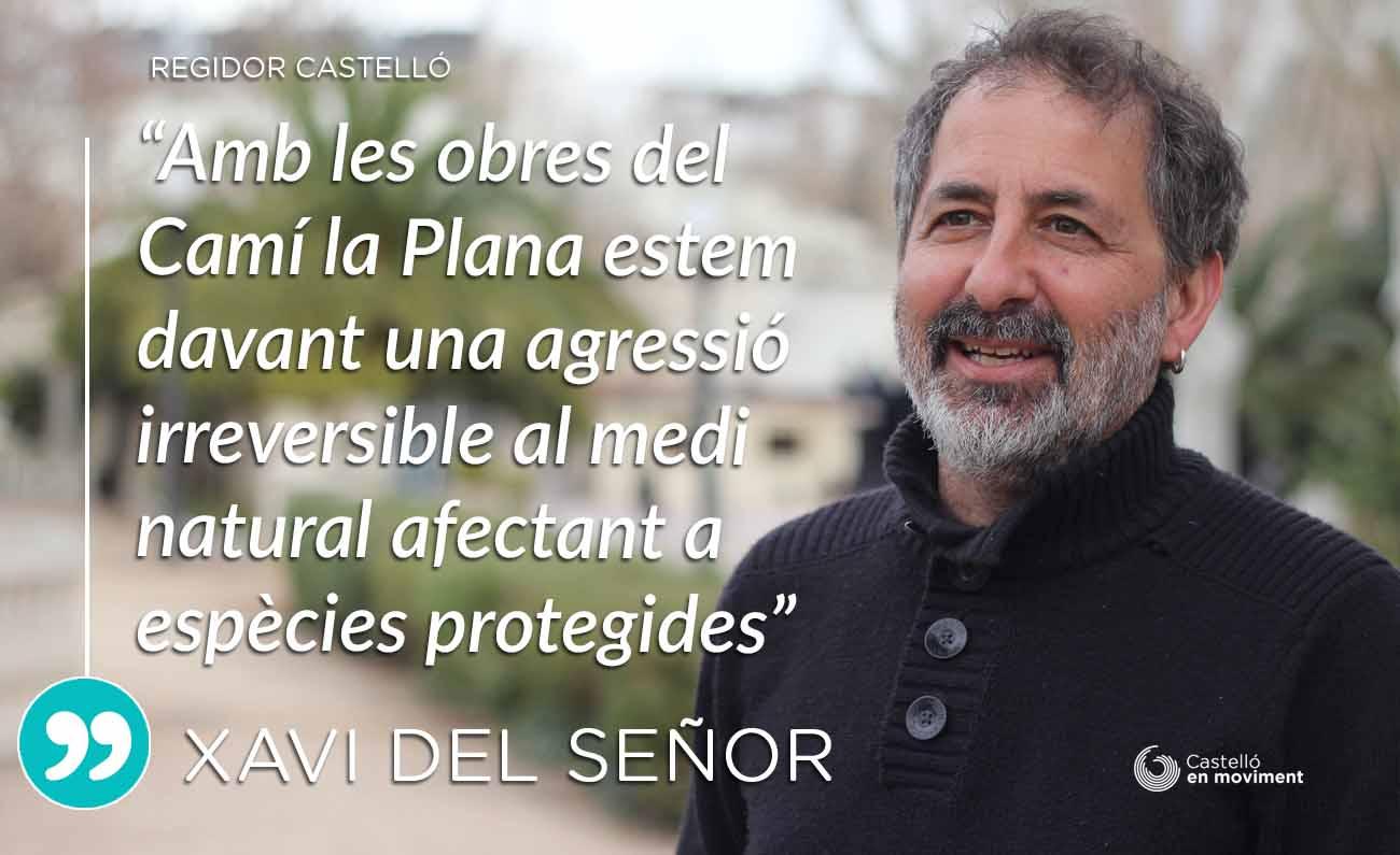 """Del Señor: """"Les Obres Del Camí La Plana Atempten Contra La Biodiversitat De Les Séquies De La Marjaleria"""""""