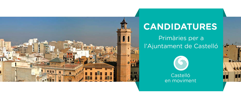 Us Presentem Les Candidatures De Castelló En Moviment Per A Les Primàries I Els Horaris De Les Votacions!